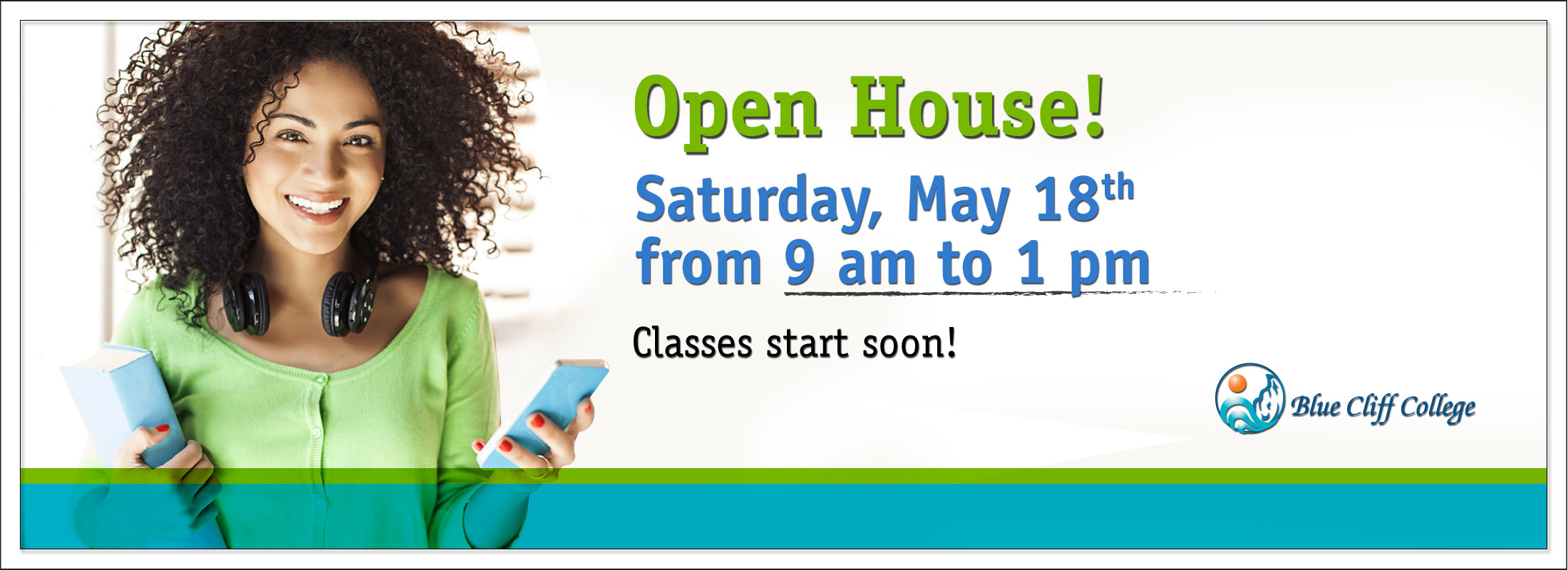 Open House Banner May 18 9am-1pm - Career Training - Louisiana, Mississipi, & Arkansas